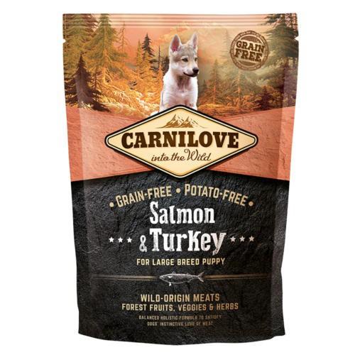 Pienso Carnilove Salmon & Turkey cachorros raza grande