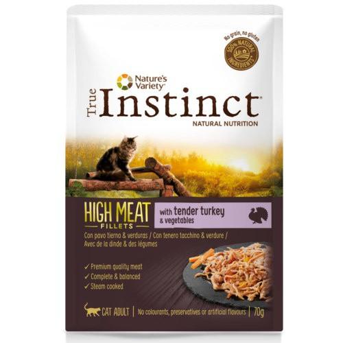 True Instinct High Meat con pavo y verduras