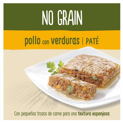 True Instinct No Grain paté de pollo con verduras