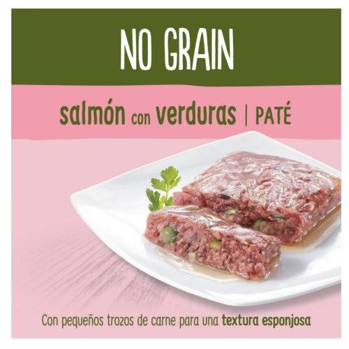 True Instinct No Grain paté salmón con verduras
