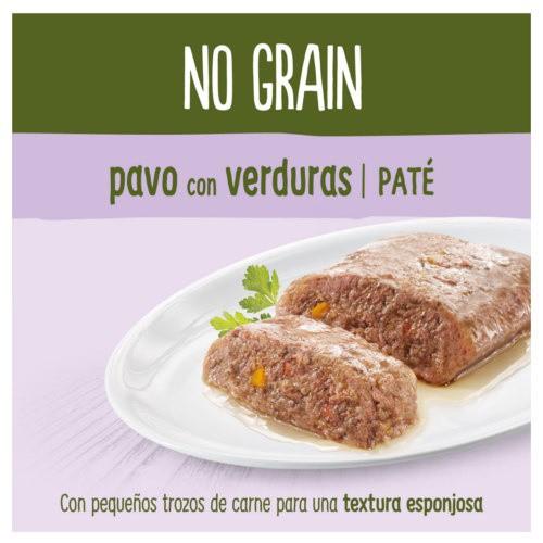 True Instinct No Grain Mini paté pavo y verduras