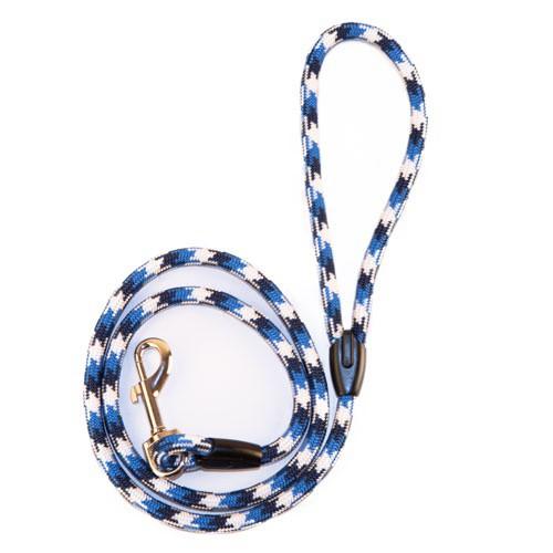 Correa fina TK-Pet Ronda azul tricolor