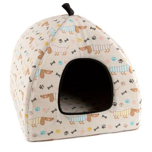 Cama iglú para perros TK-Pet Gos