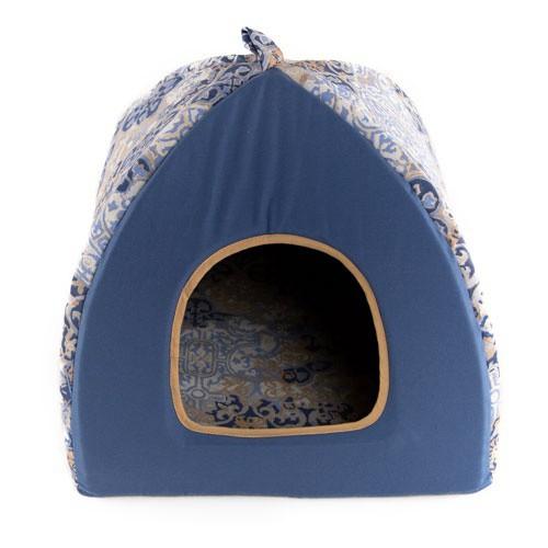 Cama iglú para perros y gatos TK-Pet Blua