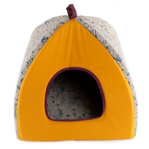 Cama iglú para gatos TK-Pet Macka