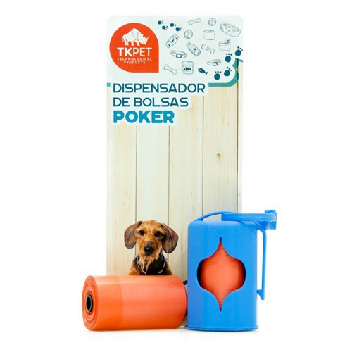 Dispensador de bolsas TK-Pet Poker