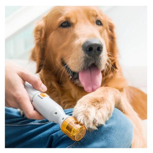 Lima de uñas eléctrica para mascotas