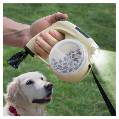 Retractable 6 in 1 dog strap