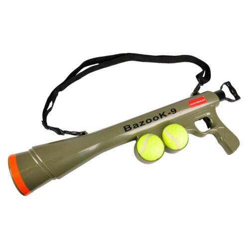Lanzador de pelotas de tenis Bazooka
