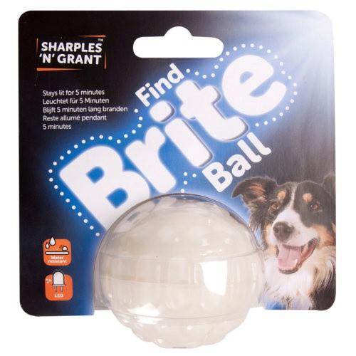 Pelota brillante led para perros