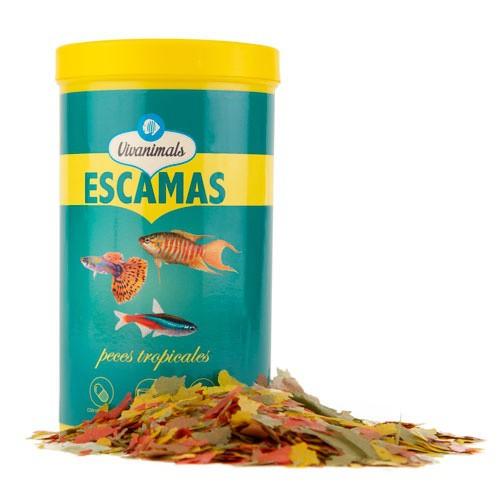 Escamas para peces tropicales Vivanimals