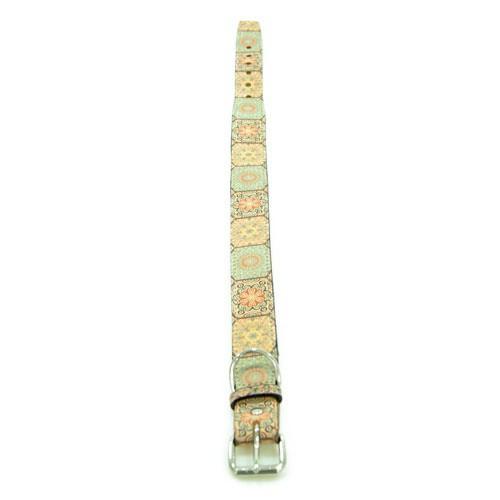 Collar de piel TK-Pet Mosaico