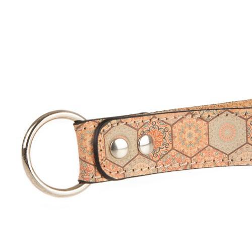 Collar de piel para galgos Tk-Pet Mosaico