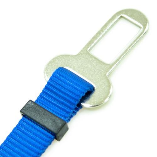 Adaptador cinturón de seguridad TK-Pet azul
