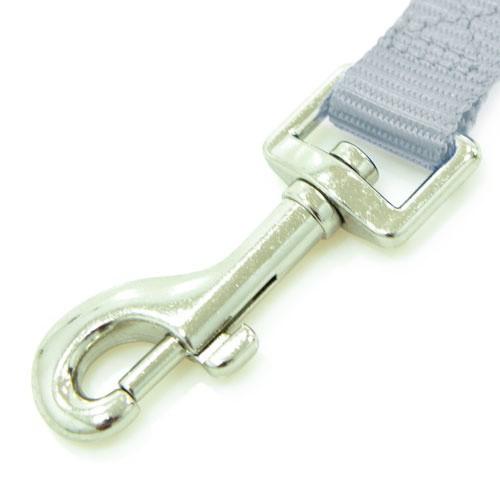 Adaptador cinturón de seguridad TK-Pet gris