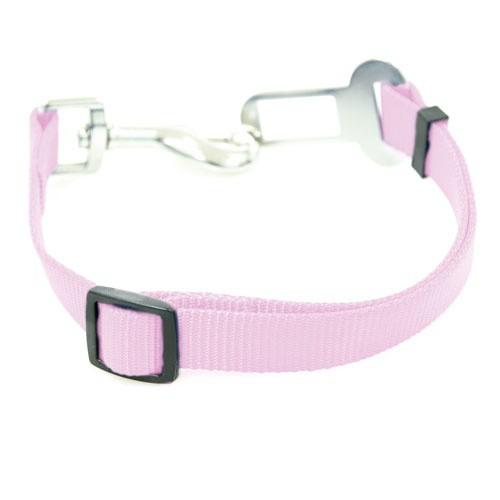 Adaptador cinturón de seguridad TK-Pet rosa