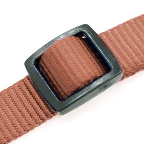 Adaptador cinturón de seguridad TK-Pet marrón