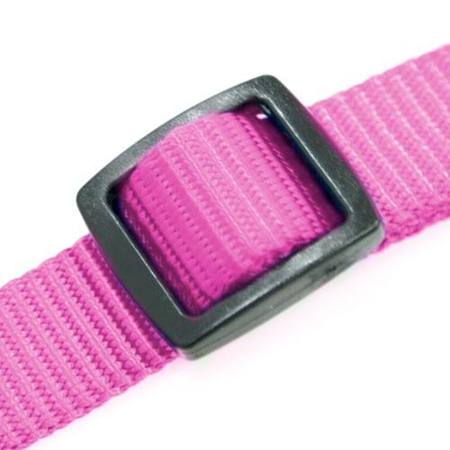 Adaptador cinturón de seguridad TK-Pet fucsia