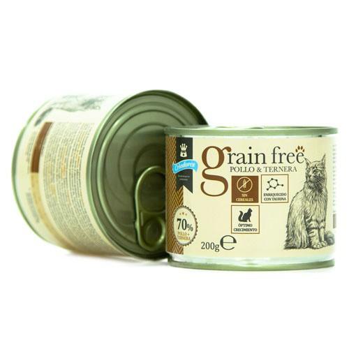 Criadores Grain Free húmedo Pollo y ternera para gatitos