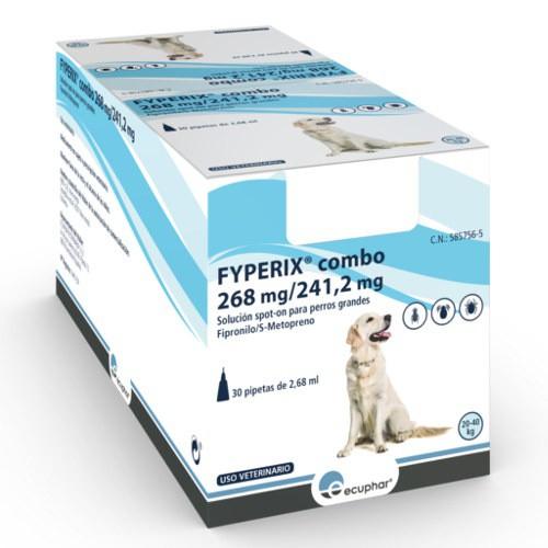 Pipetas FYPERIX Combo para perros