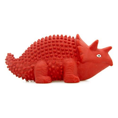 Juguete de látex TK-Pet Triceratops