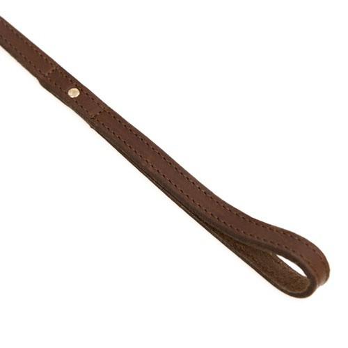 Correa de cuero Namur marrón
