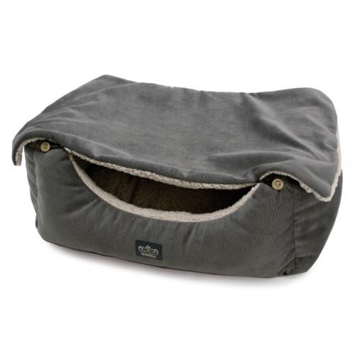 Cuna Cover para perros y gatos gris
