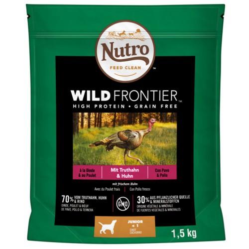 Nutro Wild Frontier Junior Pavo y Pollo
