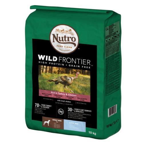 Nutro Wild Frontier Adult Pavo y Pollo para perros de raza grande