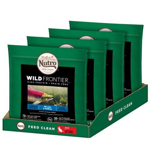 Nutro Wild Frontier Adult Salmón y Pescado para gatos