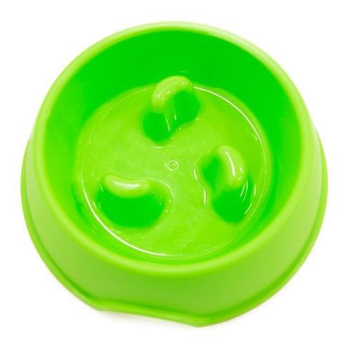 Comedero antivoracidad TK-Pet Bubba verde