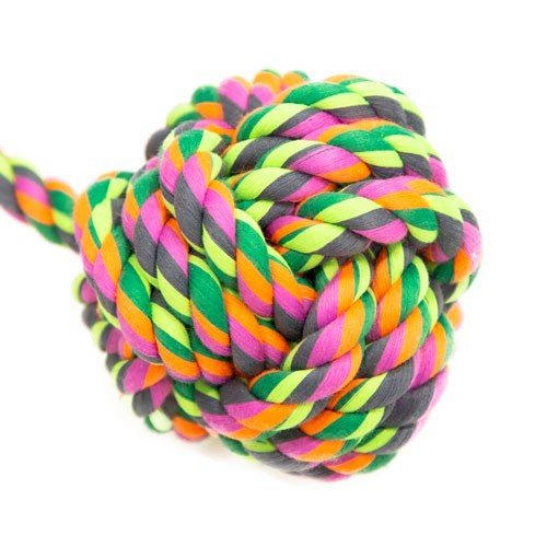 Juguete de cuerda TK-Pet pelota con asa