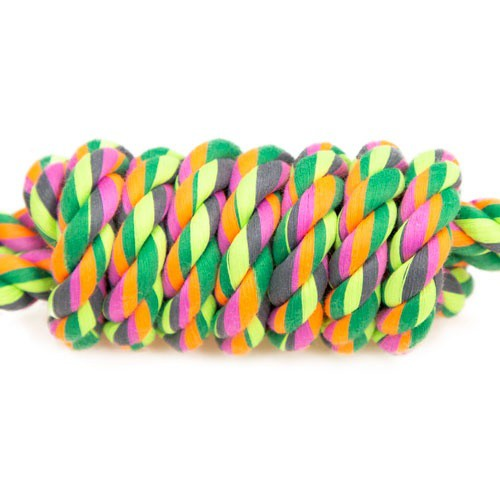 Rope toy TK-Pet lure with two handles