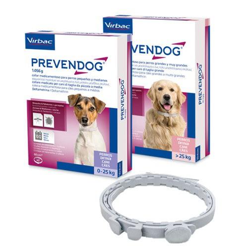 Prevendog collar antiparasitario para perros 75 cm