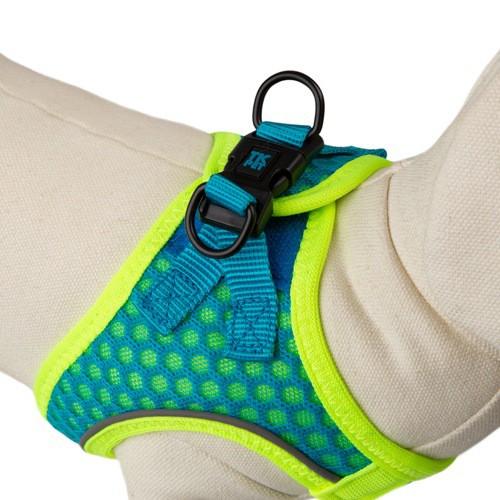 Arnés de alta visibilidad TK-Pet Easy Click azul