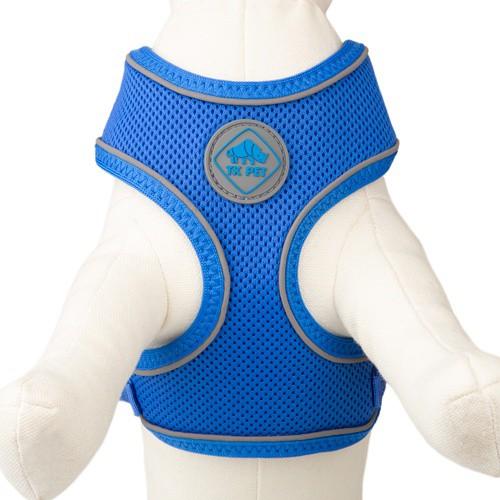 Arnés de alta visibilidad TK-Pet Soft azul