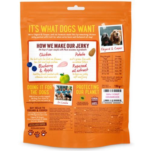 Snacks Edgard & Cooper Pollo para perros