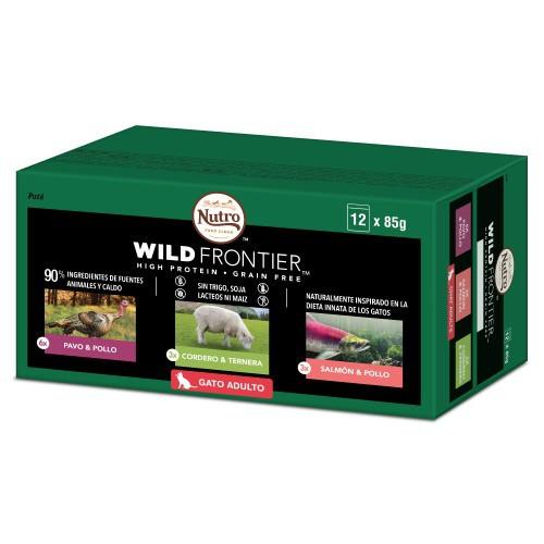 Multipack Paté Nutro Wild Frontier para gatos