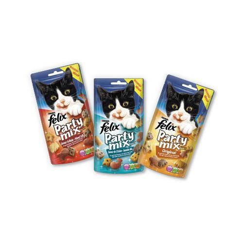 Snacks Felix Party Mix Original Mix para gatos