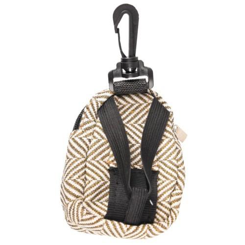 Portabolsas mochila marrón