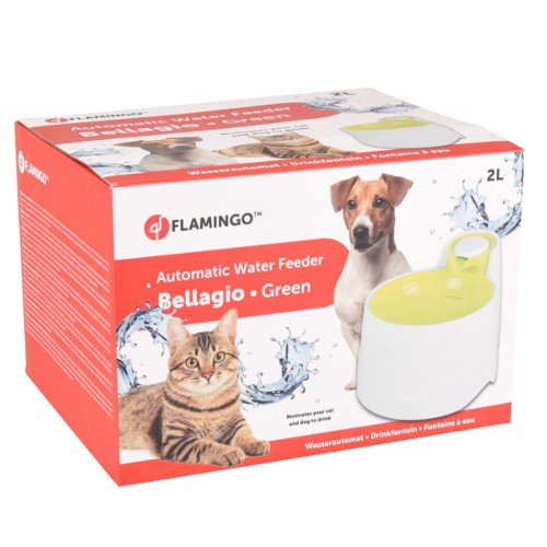 Fuente para perros y gatos Bellagio verde