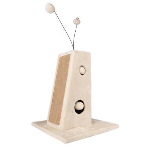 Torre rascadora con masajeador