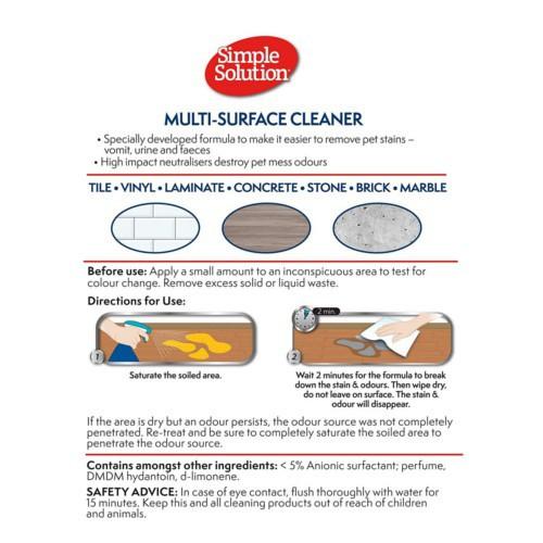 Limpiador Multisuperficie Simple Solution