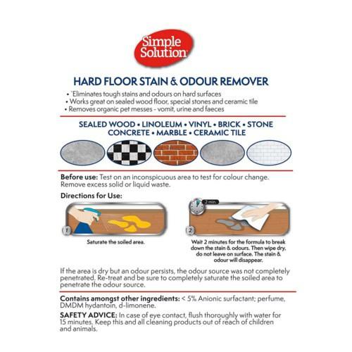 Limpiador para suelos duros Simple Solution