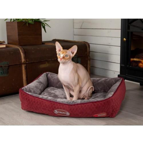 Cuna térmica Scruffs para gatos roja