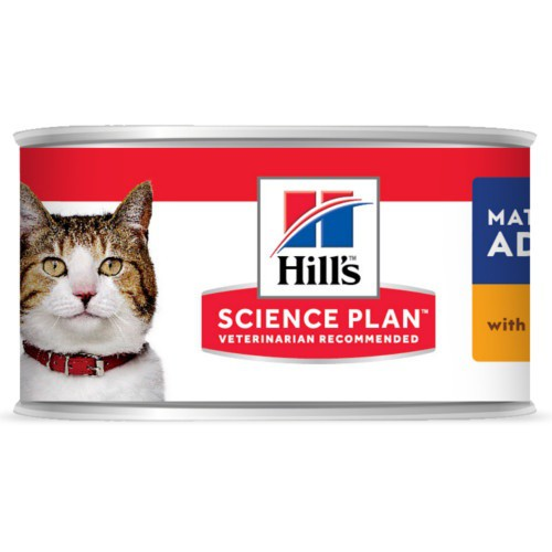 Hill's Adult húmedo con salmón para gatos