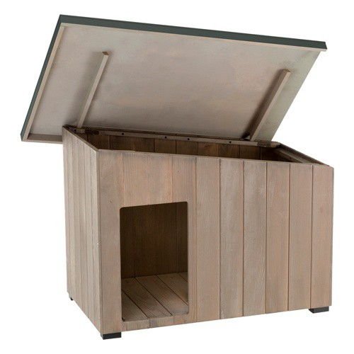 Caseta de madera para perros TK-Pet Lake