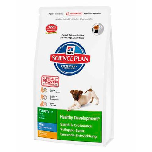 Hill's Canine Puppy Healthy Development Mini Pollo