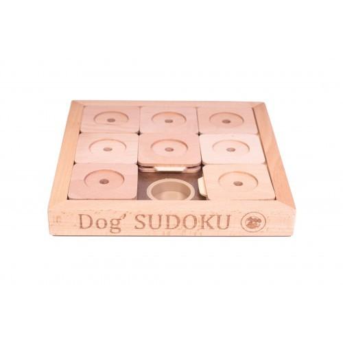 Juego de inteligencia sudoku para perros