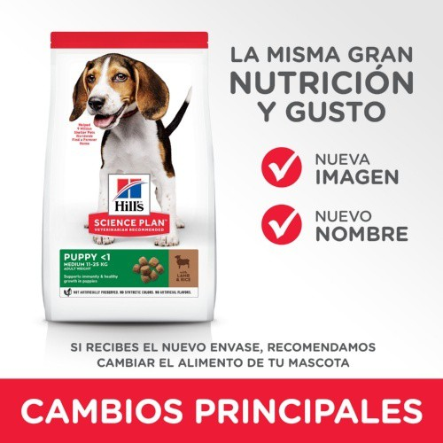 Hill's Canine Puppy Healthy Development Cordero y arroz